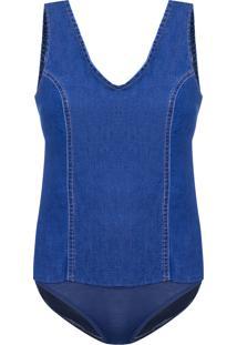 Body Feminino Unl Season - Azul