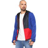 Jaqueta Calvin Klein Jeans Recortes Azul Vermelha 770f0e82825