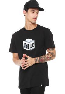 Camiseta Dc Shoes Cube Preta