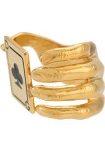 Dolce & Gabbana Anel Metálico Conceito - Dourado