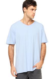 Camiseta Manga Curta Vr Lisa Azul