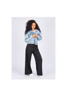 Jaqueta Jeans Blue Medio Gang Feminina