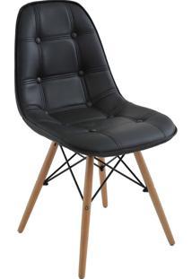 Cadeira Sem Braço Eiffel Botone-Rivatti - Preto