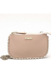 Bolsa Shoulder Bag Couro Seda - P