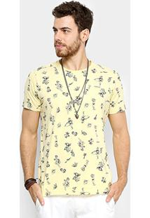 Camiseta Colcci Pin-Up Masculina - Masculino