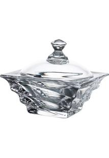 Bomboniere Casablanca- Cristal- 11,5X11,5X11,5Cmfull Fit