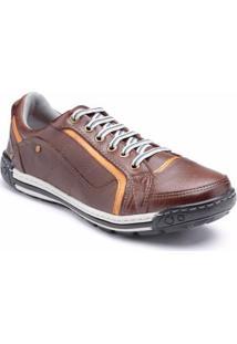 Sapatênis D&R Shoes Em Couro Masculino - Masculino
