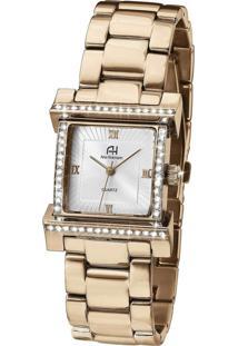 Relógio Ana Hickmann Ah28179Z Dourado Rose