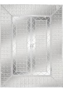 Quadro Decorativo- Espelhado- 61X42X2Cm- Mabrukmabruk