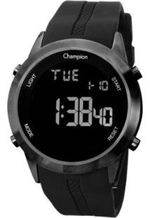 Relógio Champion Digital Ch40259D Feminino - Feminino-Preto