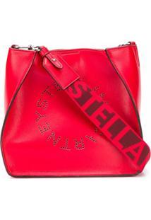 Stella Mccartney Bolsa Tiracolo Stella Pequena Com Logo - Vermelho