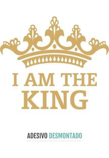 Adesivo Decohouse De Parede King Dourado