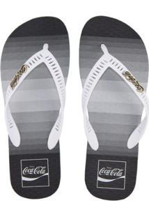 Chinelo Coca Cola Pacific Masculino - Masculino
