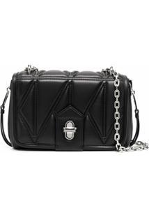 Karl Lagerfeld Quilted Crossbody Bag - Neutro