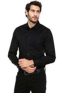 Camisa Sommer Bolso Preto