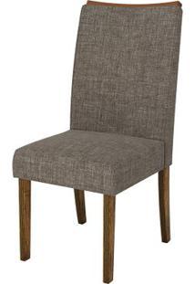Cadeira Serena 2 Peças - Demolição Com Linho Bronze