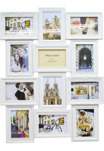 Porta Retrato Minas De Presentes 12 Fotos 10X15Cm Bege