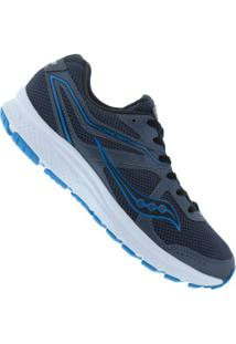 Tênis Saucony Grid Cohesion 11 - Masculino - Cinza/Azul