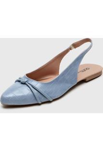 Sapatilha Dafiti Shoes Slingback Azul