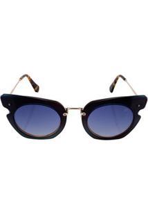 Óculos Euro Feminino Camadas Power Dourado E0016J2986/4A E0016J2986/4A
