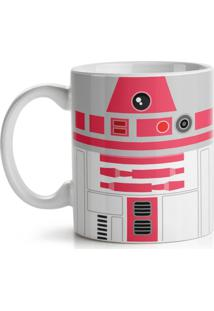 Caneca Geek Side Faces - R2 Rosa Geek10 Cinza