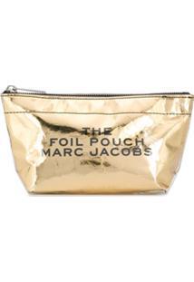Marc Jacobs Nécessaire Foil - Dourado