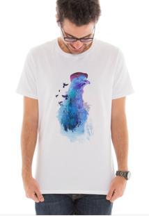 Camiseta Touts Pigeons Of London Branco