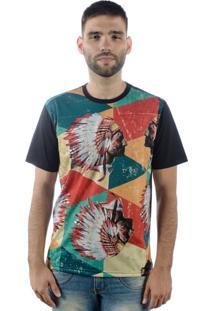Camiseta Multcaps Mxc 019 Pretõ
