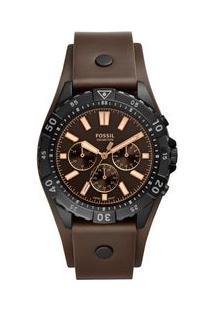 Relógio Fossil Feminino Garret Preto Fs5626/0Pn Fs5626/0Pn