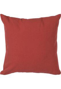 Capa Para Almofada Urban Solid- Vermelho Escuro- 40Xartesanal