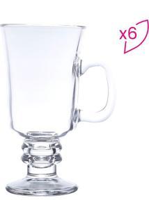 Jogo De Taças Para Cappuccino- Incolor- 6Pçs- 29Lyor