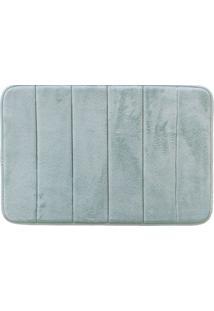 Tapete De Banheiro Super Soft I Azul 60X40 Cm