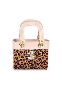 Bolsa Tote Handbag Pequena Onça Cbk