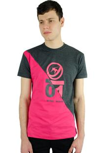 Camiseta Recortada Wind Beach Zero One Pink