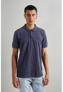 Camisa Polo Reserva Luar Masculino - Masculino-Marinho