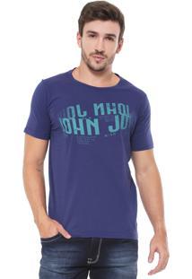 Camiseta John John Futuristic Azul