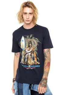 Camiseta ...Lost Queen Od Desert Azul