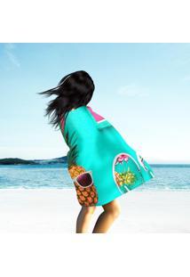 Toalha De Praia / Banho Bright Summer Color
