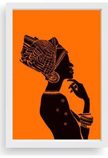 Quadro Love Decor Decorativo Mulher Africana