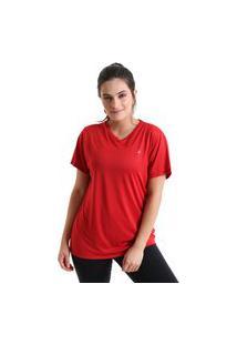 Camiseta Feminina Sting - Vermelho - Líquido
