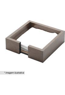 Porta Guardanapo Woodart- Marrom Escuro- 4,5X15X15Cmrojemac