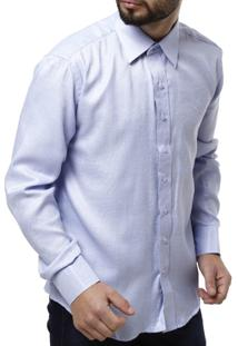 Camisa Manga Longa Bivik Masculina - Masculino-Jeans