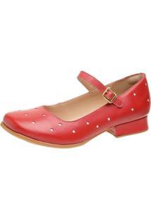 Sapato Feminino Miuzzi Rubi / Branco Ref: 3213