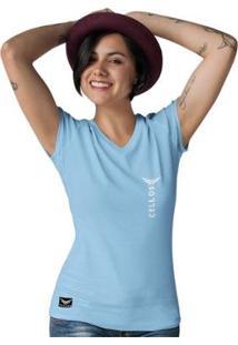 Camiseta Gola V Cellos Vertical Premium Feminina - Feminino