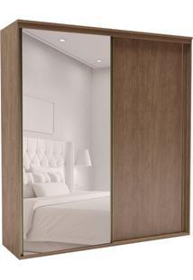 Guarda-Roupa Casal Com Espelho Inovatto 2 Pt 6 Gv Ébano