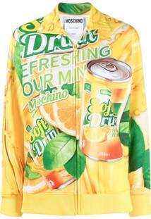 Moschino Jaqueta Com Slogan 'Soda' - Amarelo