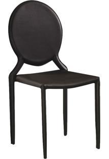 Cadeira Amanda Medalhã£O Marrom Rivatti - Marrom - Dafiti