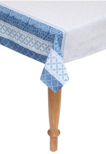 Toalha De Mesa Santista Verona Azul