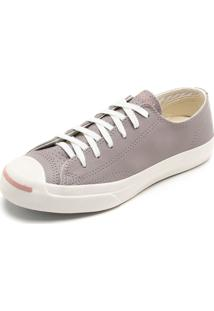 Tênis Couro Converse Jack Purcell Cinza