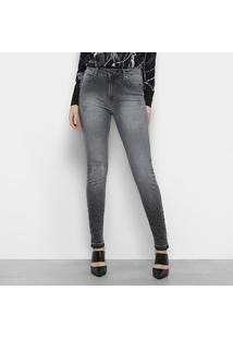 ... Calça Jeans Forum Marisa Skinny Bordado Feminina - Feminino a83ac86e787